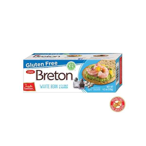 Breton Gluten Free White Bean Salt & Pepper Crackers