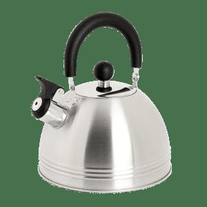 Mr. Coffee Carterton Stainless Steel Whistling Tea Kettle 1.5 Quart