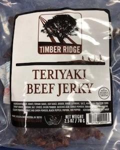 Timber Ridge Teriyaki Jerky