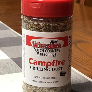 Weaver's Dutch Country Seasoning Campfire Grilling Dust