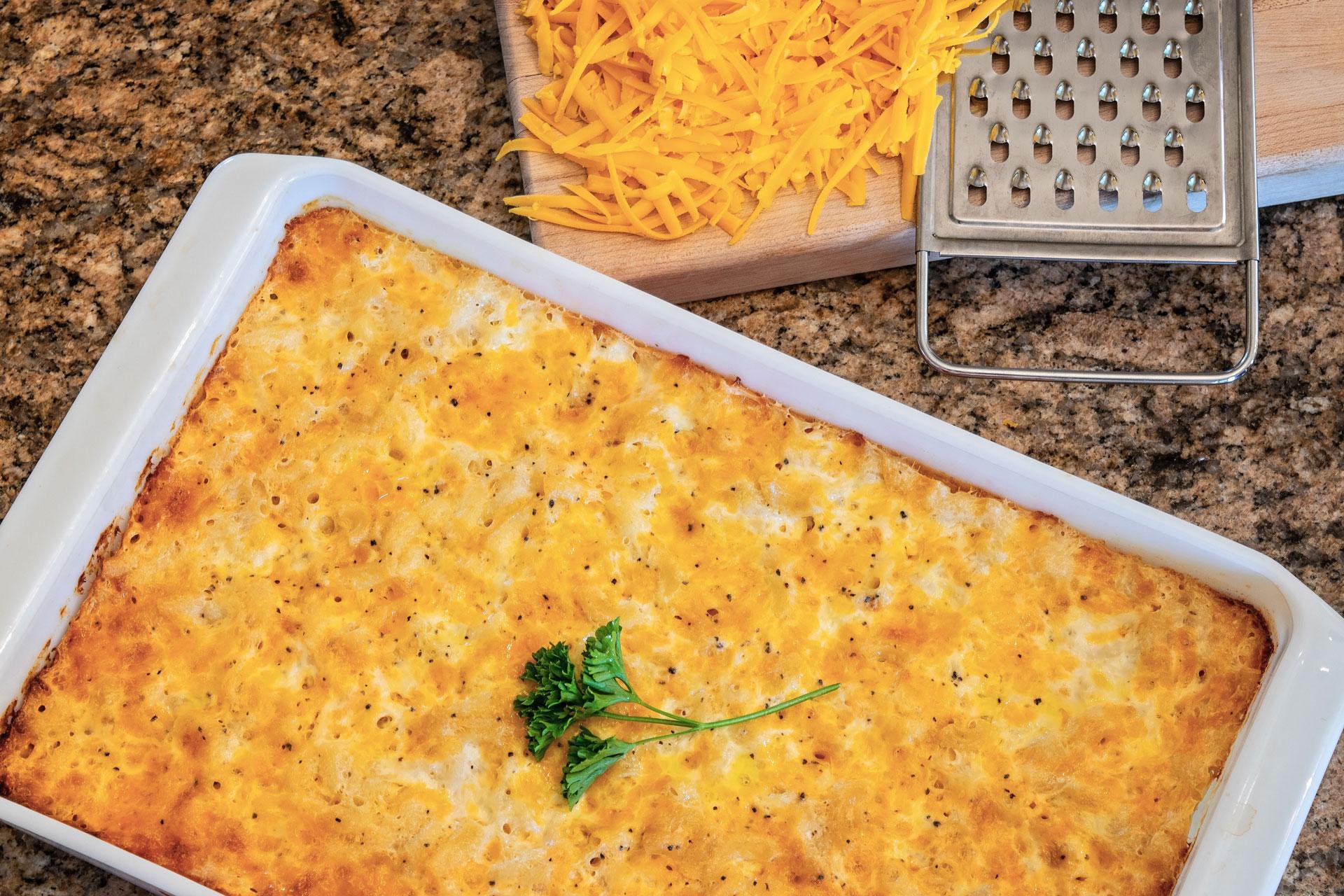 Easy Baked Macaroni & Cheese