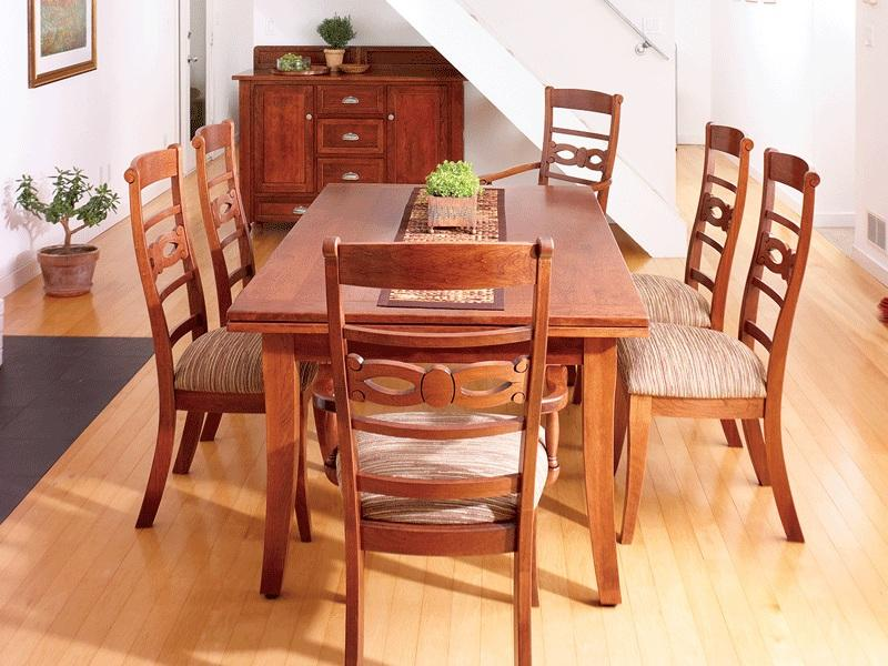 The New Dining Table: What Size Dining Table Do I Need? – TIMBER ...
