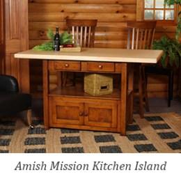 Amish Mission Kitchen Island