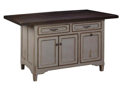 Lexington Hardwood Kitchen Island