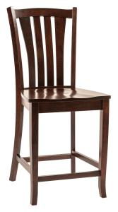 Amish Harris Bar Stool