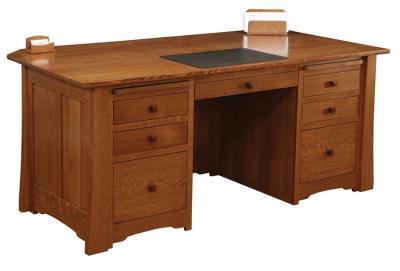 Amish Jamestown Executive Desk