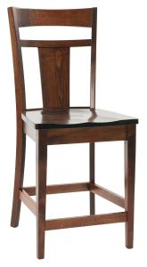 Amish Livingston Contemporary Bar Stool