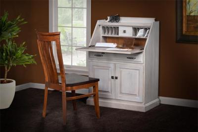 Amish Secretary Desk with Doors