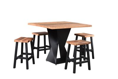 Reclaimed Wood Avenue Bar Table