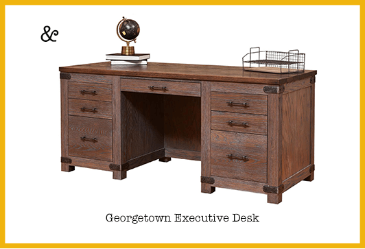 Product Portfolio Manager Ryan's Pick 2: Georgetown Executive Desk