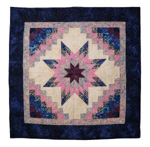Stars in Common Quilted Wall Hanging