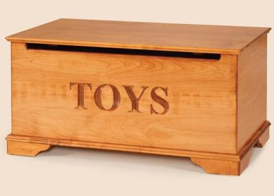 Amish Maple Wood Toy Chest