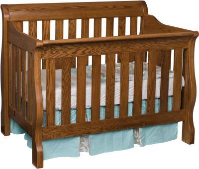 Amish Traditional Convertible Crib