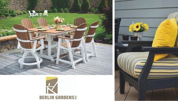 berlin gardens outdoor furniture Berlin Gardens Poly Furniture Collection