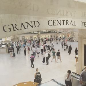 Grand Central Station is a great place for kids to enjoy people watching and trains.