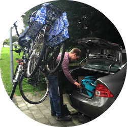 Dutch Bikes, American Bike Rack