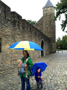 Old City Wall Maastricht with Kids.