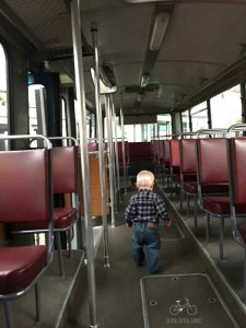 Walking Down the Bus