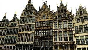 Antwerp Guild Houses on the Market Square