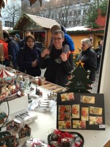 Heidelberg Christmas Market Shopping