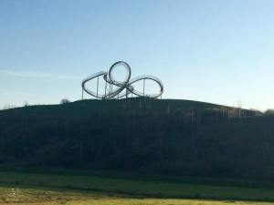 Tiger&Turtle bellow the hill