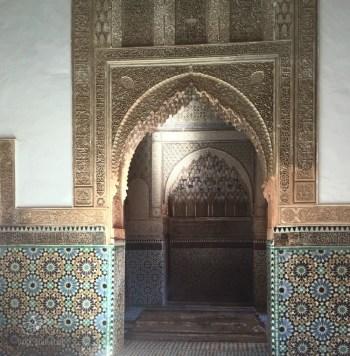 Door of the Bahai Palace