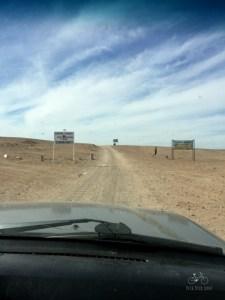 End of the Road Sahara Desert