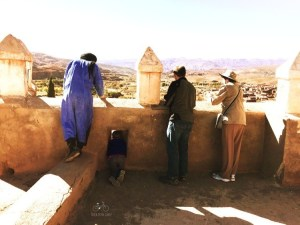 Kasbah Telouet View from the Roof