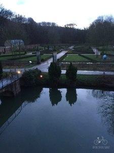 Kasteel Terworm Gardens from Castle Window