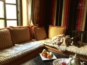 Nap in the Riad