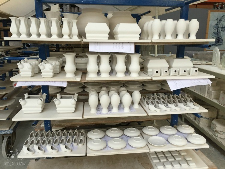 Pottery Awaiting Painting