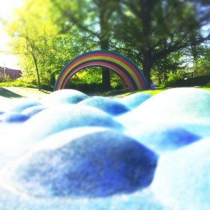 Malmo Fairy Tale Playground Rainbow Slide