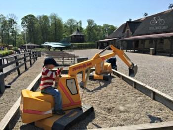 Favorite Digging Toy at Egeskov Castle