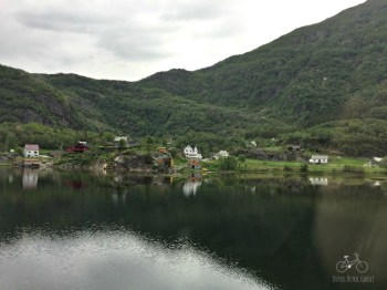 Fjord Village from Train