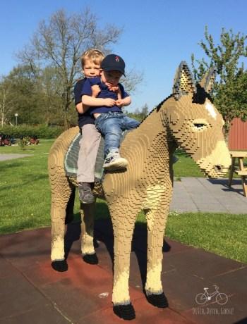 Lego Donkey to Ride at Hotel