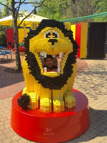 Lego Lion, Billund Legoland