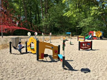 Small Playground at Egeskov Castle