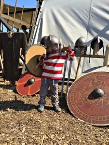 Viking Dress Up in Denmark