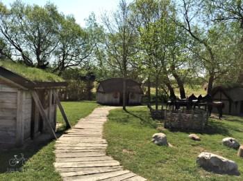 Viking Village Playground Village Area
