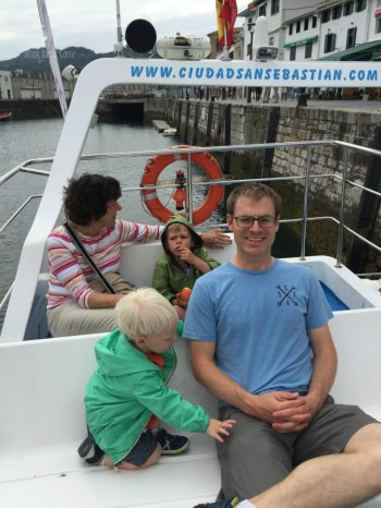 San Sebastian Boat Ride