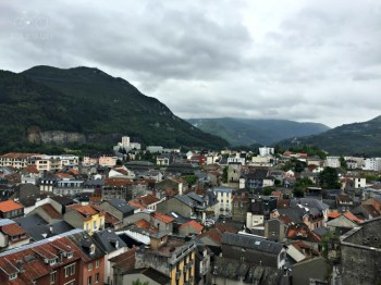 The town of Lourdes