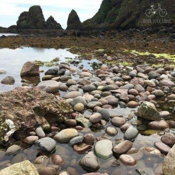 Dunnottar Castle Stone Beach