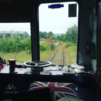Inside the Keith Dufftown Railway