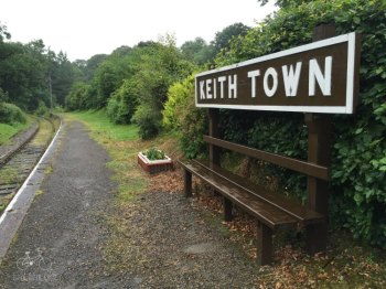 Keith Town Railway Sign