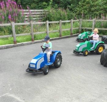 Tractors at Adventure Park