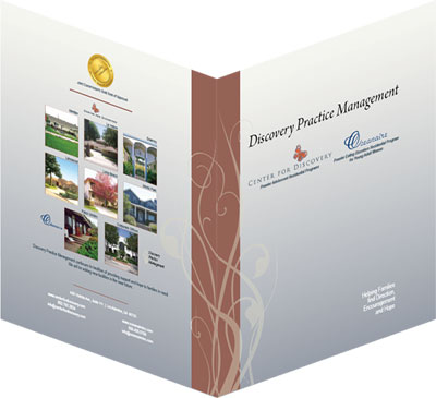 presentation folder outside - front and back