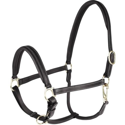 Horze Largo Leather halter black