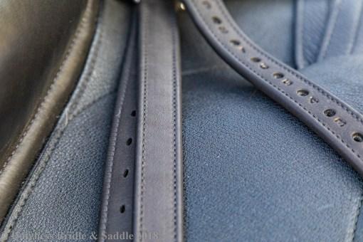 Calfskin stirrup leathers