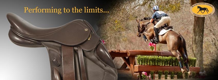Black Country Vinici Jump saddle banner