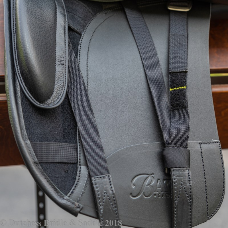 Bates Dressage+ saddle with Y-girthing system